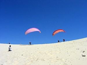 Parapente sur la célèbre Dune du Pyla